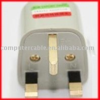 50pcs Universal Power Travel Adapter Plug AC for UK England