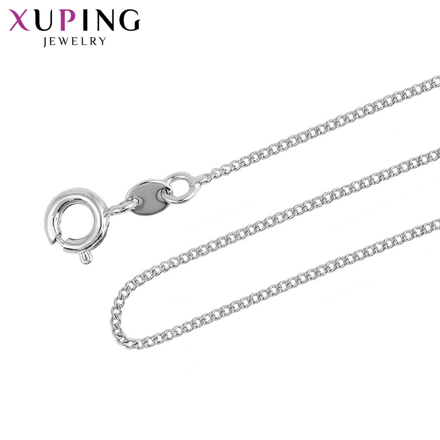 11.11 Deals Xuping Fashion Necklace Environmental Copper Jewelry for Neutral Special Design Charming Christmas Gifts S40.7-43784