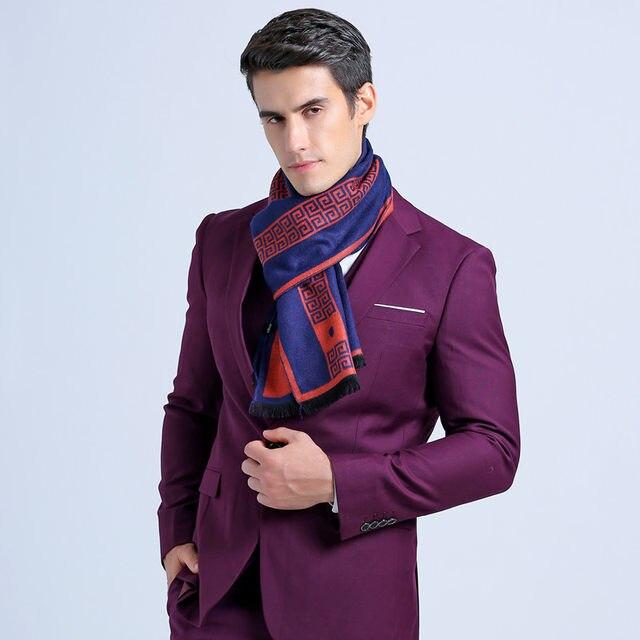Tienda Online Moda Otoño bufanda hombres bufanda a cuadros británica ...