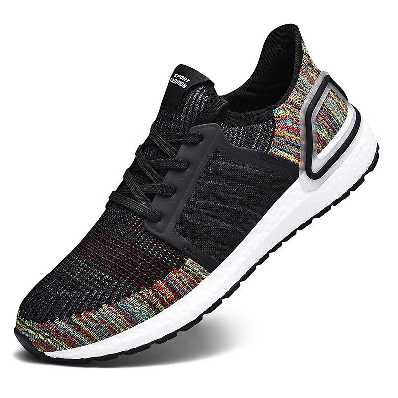 Спортивные мужские туфли; женская обувь для бега; коллекция 2019 года; chaussures femme; Air Huaraching zapatos hombre; беговые кроссовки для мужчин