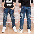 Новый Год, джинсы мальчик для 2 до 14 лет дети носить модный стиль и высокое качество дети джинсы, мальчики джинсы