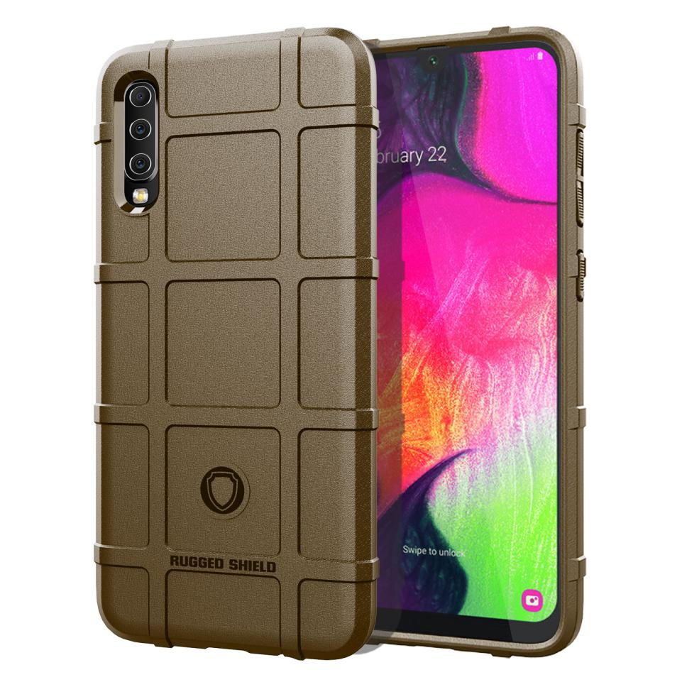 For Samsung Galaxy A30 A20 A40 A50 A70 Case Fashion Shockproof Soft Silicone TPU Shield Phone Protection Case Back Cover Shell in Fitted Cases from Cellphones Telecommunications