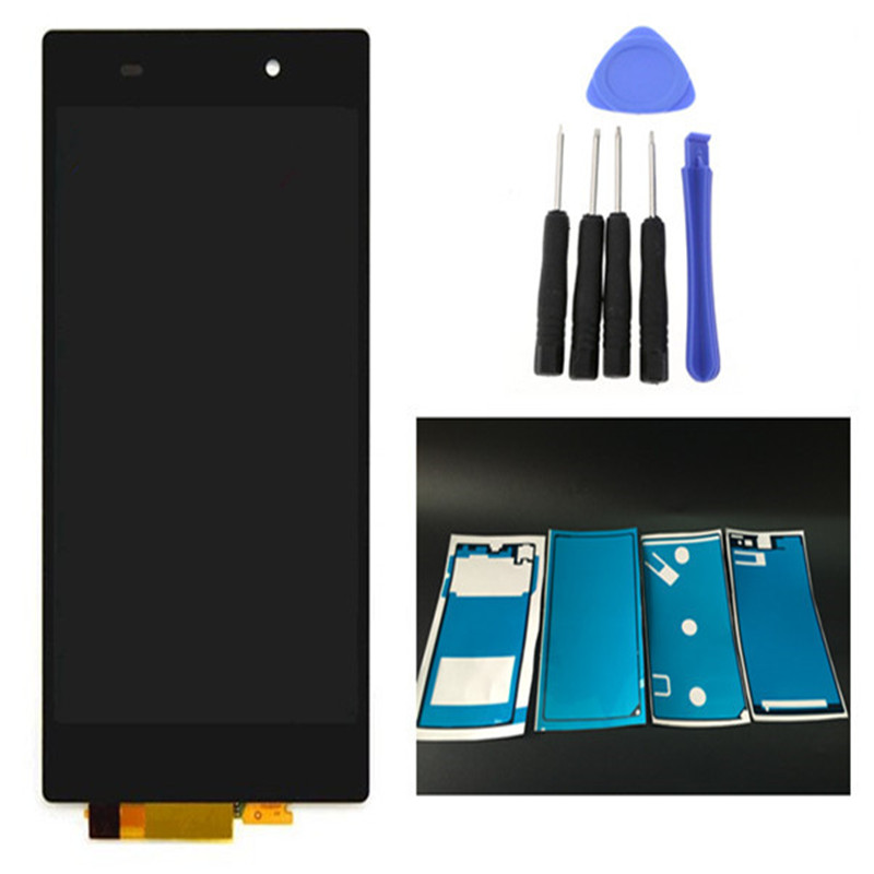 TIANQIDA Touch Screen For Sony Xperia Z1 L39 L39H C6902 C6903 LCD Display Digitizer Sensor Glass Panel Assembly 5.0 inch