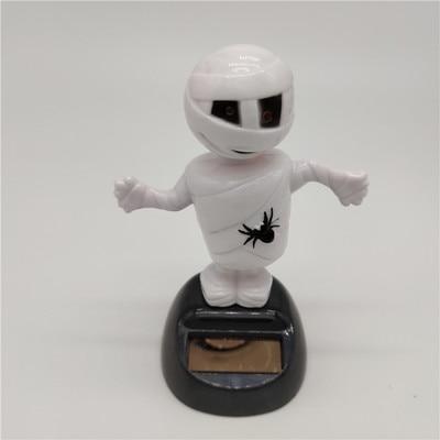 Новинка Солнечная игрушка ed танцующий откидной клапан качающийся головой игрушки для детей солнечная игрушка энергия фигурка игрушки - Цвет: Mummy