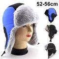 BFDADI 2016 горячие продажа высокое качество дети Мода лисий мех леев фэн шапка меховая шапка тепловой снежная шапка зимняя шапка Бесплатная Доставка