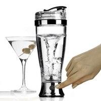 450 mL botella de la coctelera eléctrica vortex Mixer Blender bottle bebida Herramientas proteína movimiento portátil tornado BPA botella de agua