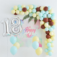Birthday Party Decoration Pink Girl Birthday Balloons Number Balloon 18 Year Old Kids Birthday Party Supplies Number Can Choose