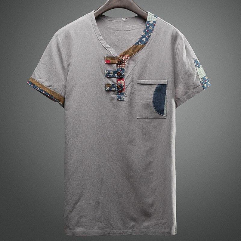 da1f859c200dca Okrągły Dekolt Kwiatowy Print Camisetad Męskie Koszulki z krótkim rękawem  Fancy Slim Fit Wszystkie Mecze Na Co Dzień Z Krótkim Rękawem Letnie Nowe  T-shirty