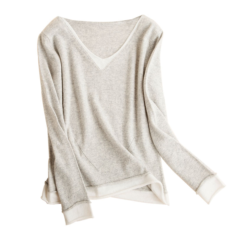 JSY Girls Casual Pullover Jumper Knit Slim Cute Sweater
