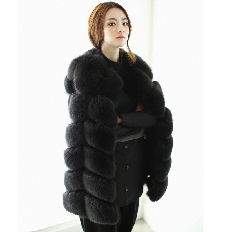 Popular White Fox Fur Jacket-Buy Cheap White Fox Fur Jacket lots ...