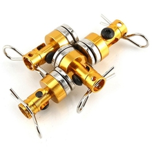 Metal Magnetic Car Shell Invisible Column Free Hole Model Accessories + Clip For Rc Drift Hsp