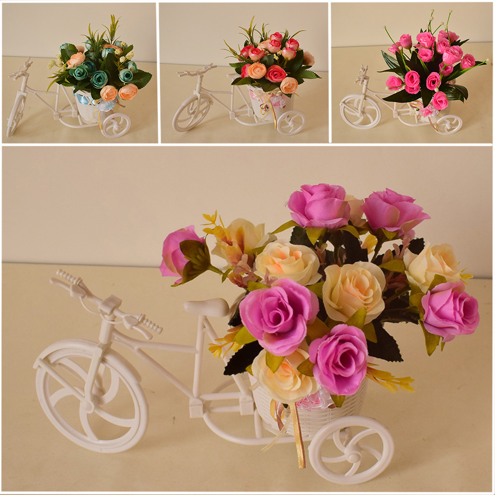 Online get cheap bicycle garden decor for Inexpensive garden decor