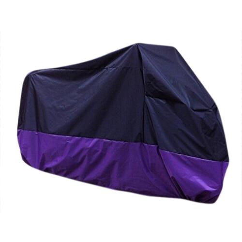 TOYL Violet Noir Housse Bache Protection Couverture de moto velo