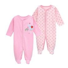 11d285148245a Nouveau-né bébé vêtements bébés pieds pyjamas barboteuses à manches longues  bébé garçon fille vêtements