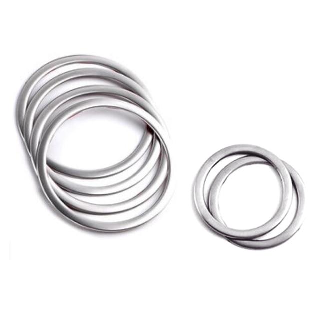 For BMW X6 E71 Door Inner Speaker Cover Ring Decor Trim Matte ...