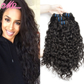 Mink Brazilian Virgin Hair Water Wave 4 Bundles Brazilian Wet And Wavy Human Hair Natural Brazillian Wavy Hair Maxglam hair