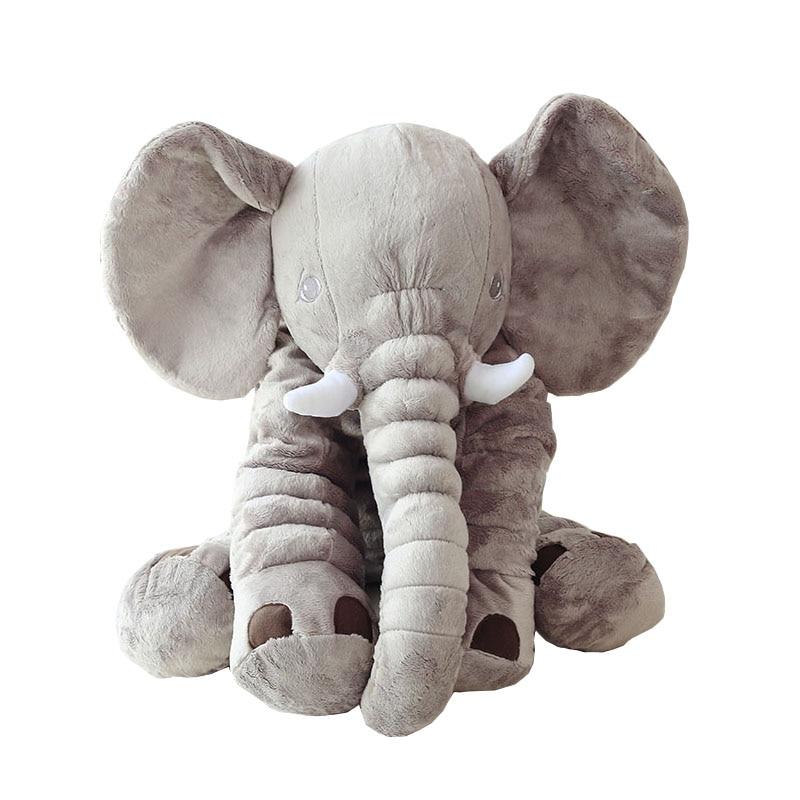Dorimytrader 80cm Plush Cartoon Elephant Toy Giant Stuffed Soft Hot Animal Hug Pillow Doll Baby Present DY61222-in Stuffed & Plush Animals from Toys & Hobbies    1