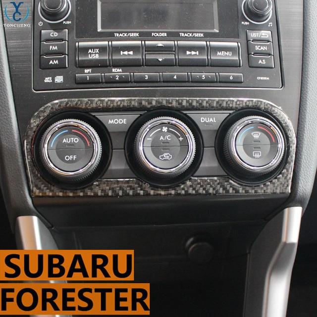 Adapt To Subaru Forester Accessories Stickers Modification Of Carbon Fiber Car Interior Trim 2017 2016