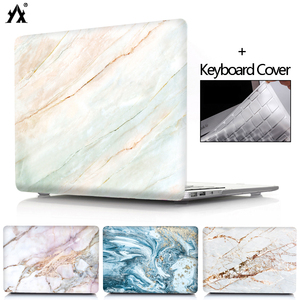 Marble Laptop Case For Mac Book Touch Bar/ID Air 13 A2179 2020 Pro Retina 11 12 13 15 for macbook Pro 16 A2141 +Keyboard Covery(China)