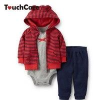 2014 Winter Carters Baby Boy Girl Clothing Set Newborn Baby Clothes Romper Pants Coat Roupas De
