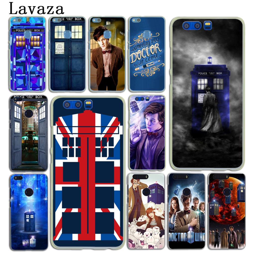 Lovely Tardis Box Doctor Who Soft Tpu Silicone Phone Cover Case For Huawei Honor 6a 7a Pro 7c 7x 8 9 10 Lite 8x 8c Half-wrapped Case
