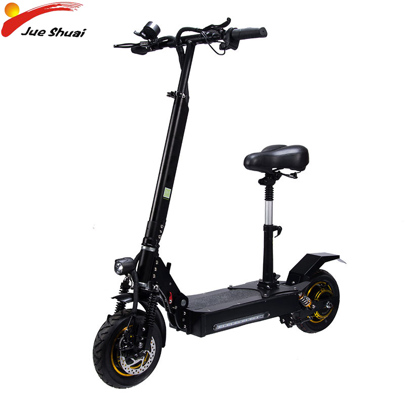 Scooter électrique 2000 W 60 V 70 KM/H 10 pouces adultes pliable 60 V 20AH étanche moteur électrique Hoverboad planche à roulettes E Scooter CE