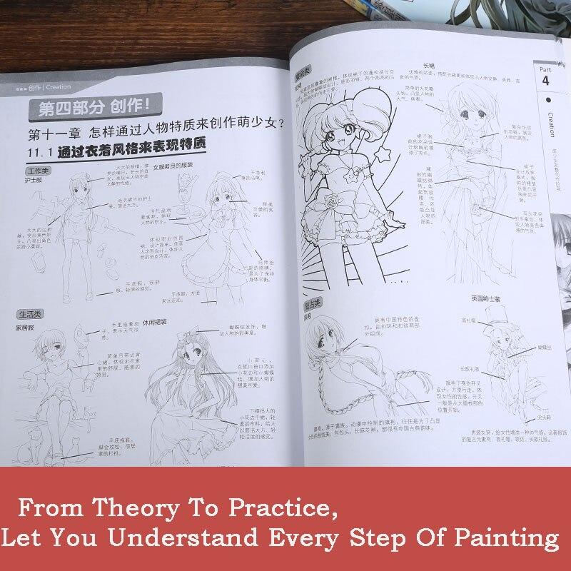 de aprender o manga desenho tecnicas tutorial livro chines 03