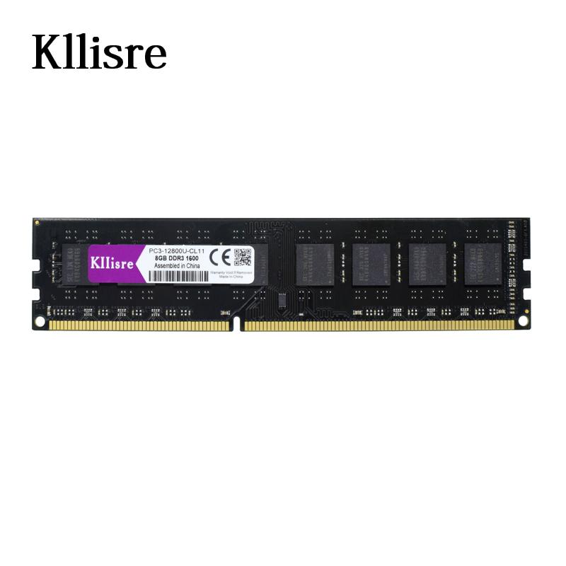 Prix pour Kllisre DDR3 8 GB ram 1600 MHz 240 pins 1.5 V bureau non-ecc mémoire