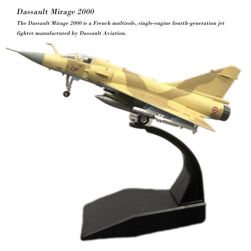 Амер 1/100 весы Военная униформа модель игрушечные лошадки Франции Dassault Mirage 2000 истребитель литья под давлением Металл самолет модель игруш