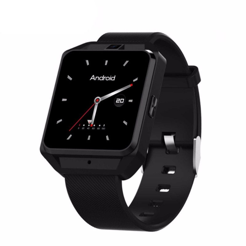 New 4G Smart Watch Phone Android 6.0 MTK6737 WiFi Bluetooth GPS Smart Watch Men Heart Rate Monitor Smartwatch with 5.0MP dm2018 smart watch android gps sports 4g smartwatch phone 1 54 inch bluetooth heart rate tracker monitor pedometer pk kw88 dm98