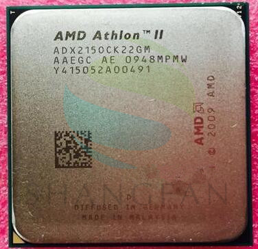 AMD Athlon X2 215  2.7GHz Dual-Core CPU Processor   ADX215OCK22GM  ADX215OCK22GQ  Socket AM3 938pin