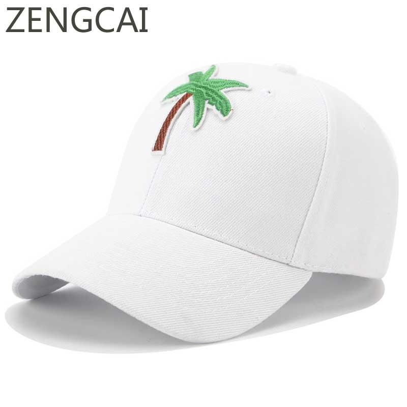 Embroidery Tree Snapback Cap Hip Hop Dad Hat Women Men Harajuku Baseball Caps Summer Adjustable Black Trucker Hats Casual Funny