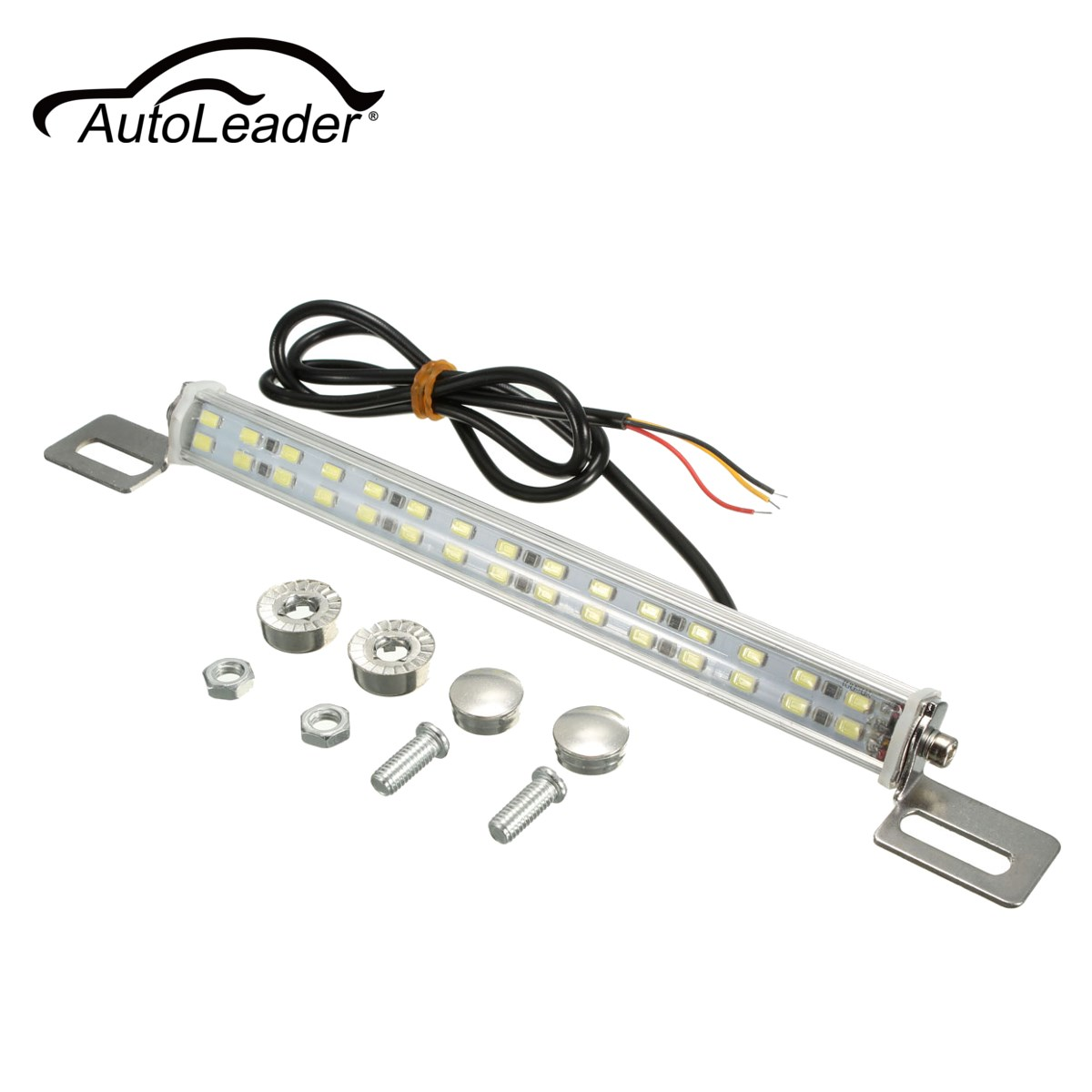 AutoLeader Universal 12V 30 LED Car Truck License Plate Backup Reverse Light Number Plate Lamp White Car Styling adidas performance adidas performance ad094emhez52
