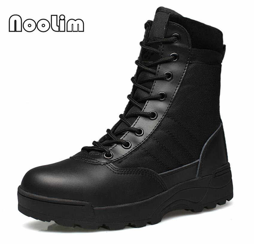 cc9d939620e Outdoor Army Boots Men's Military Desert Tactical Boot Shoes Autumn  Breathable Combat Ankle Boots Botas Tacticos Zapatos