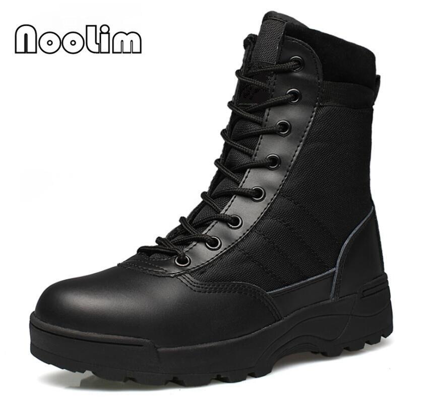 Открытый армейские ботинки Для Мужчин's Военная Униформа Пустыни Тактических загрузки Обувь осенние дышащие армейские Ботильоны Botas tacticos Zapatos