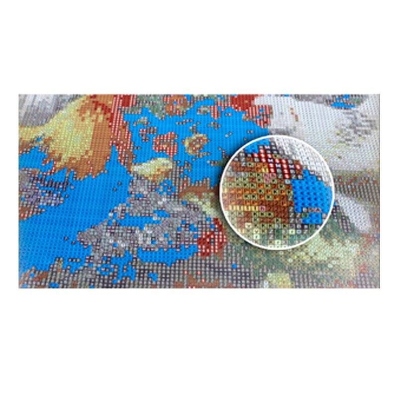 Diy Pintura Diamante Punto de Cruz Cuadrado Piedras de Strass Bordado - Artes, artesanía y costura - foto 6