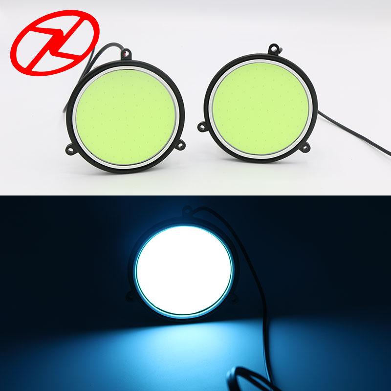 2X Υψηλή ισχύς COB Daytime Running Light 12V - Φώτα αυτοκινήτων - Φωτογραφία 1