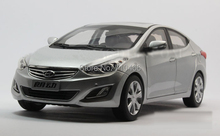 Few Available Silver 2013 1 18 Hyundai ELANTRA MD Avante Die cast Model Car Toys Replica