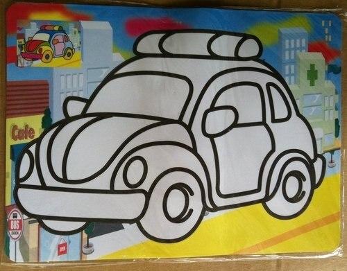 100 шт./лот, цветная Песочная живопись наборы Хэллоуин игрушки для детей