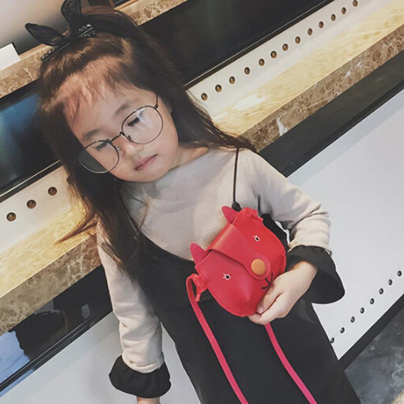Детская стильная футболка с изображением персонажей видеоигр узор Искусственная кожа Сумка девушка сплошной цвет пряжки квадратная мини С...