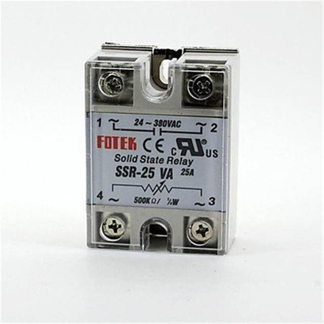solid state relay SSR 25VA 25A ohm TO AC SSR 25VA relay solid state