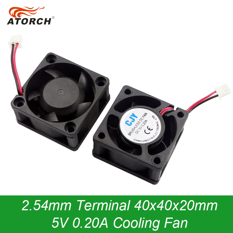 40x40x20mm Cooling Exhaust <font><b>Fan</b></font> <font><b>5V</b></font> 0.20A <font><b>40MM</b></font> 4CM 4020 DC CPU Brushless Cooling Cooler <font><b>USB</b></font> load tester Ventilation <font><b>Fan</b></font> image