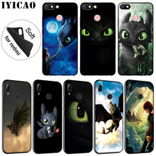 IYICAO sdentato How To Train Your Dragon Cassa Molle Del Silicone per Xiaomi Redmi K20 8A 7A 6A 5A S2 4X 4A ANDARE Nota 8 7 5 Più di 6 Pro(China)