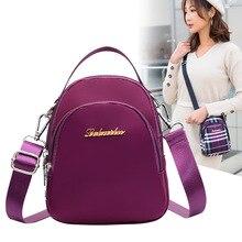 Womens casual shoulder bag Messenger wild mini single bags ladies mobile phone purse