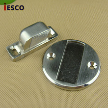 Strong magnetic alloy round door stopper, strong suction, suction force classic round floor door