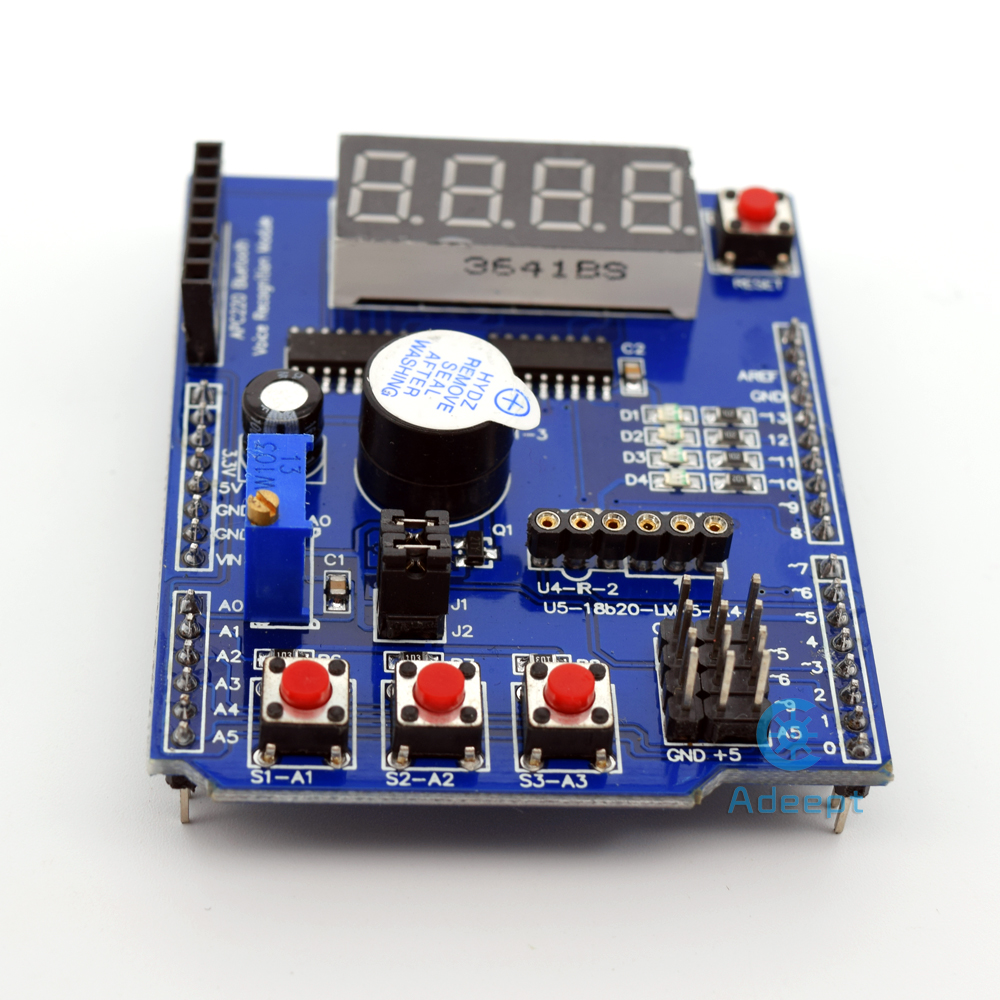 Adeept New New Multifunktions-Erweiterungskarte Schild für Arduino - Intelligente Elektronik - Foto 2