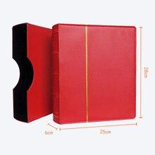 Твердый переплет 70 листов 25*28 см монета держатель для книжки бумага валюты банкноты Коллекция Деньги Монета защиты книга памятные монеты альбом