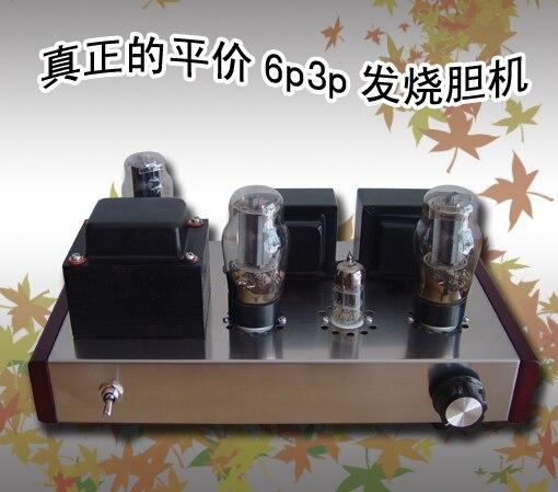 HIFI fini classe A à une extrémité 6N1 + 6P3PTube amplificateur HIFI Valve amplificateur Audio