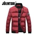 Jolintsai 2017 Winter Jacket Men Cotton Down Coats Men Stand-collar Parka Men Manteau Homme Hiver Mens Jackets And Coats