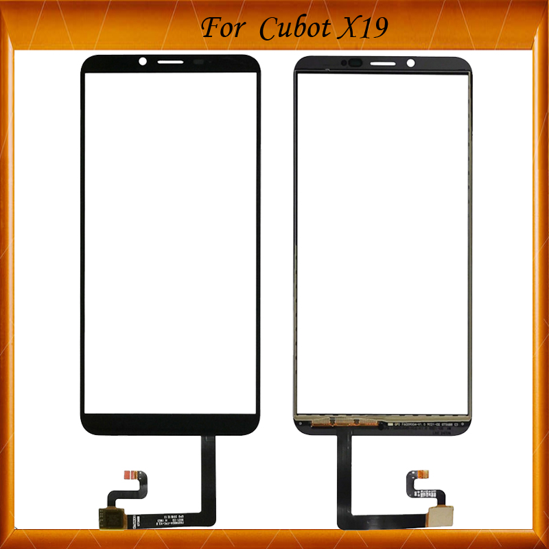 5.93 inch For Cubot X19 Touch Screen 100% Tested Screen Digitizer Mobile Touch Panel Replacement For Cubot X19